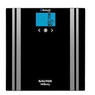 Salter Mibody Digital Analyser Bathroom Scales - Black 9159 BK3R
