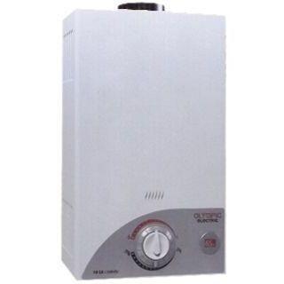 Olympic Digital Gas Water Heater 6 Liter - White