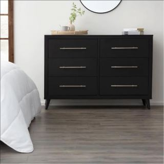 Emery black storage unit ash163