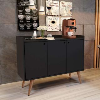 3 roll black coffee corner ash213