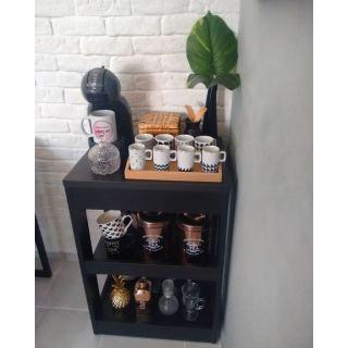 Ground black coffee corner ash216