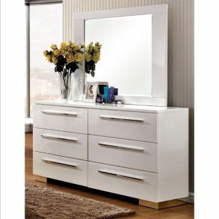 Drawer unit with top mirror ash217