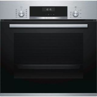 Bosch Built-In Electric Oven 60 cm 66L Black Stainless HBJ558YS0Q
