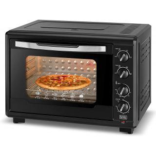 Black + Decker Toaster oven 55 liters - 2000 watts - TRO55RDG