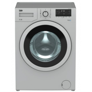 BEKO WASHING MACHINE FULL AUTOMATIC DIGITAL 7 KG 1000 RPM XL CHROME DOOR SILVER WTV 7512 XSC