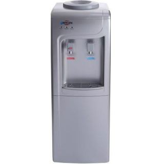 Bergen Water Dispenser, Hot and Cold, Silver - BY90