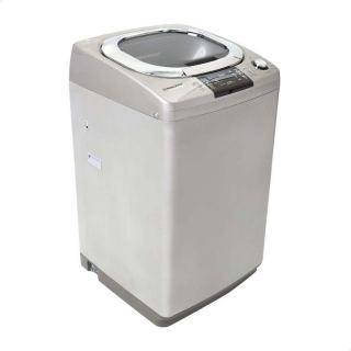 White Point WPTL13DGSCM Top Load Washing Machine, 13 kg - Silver