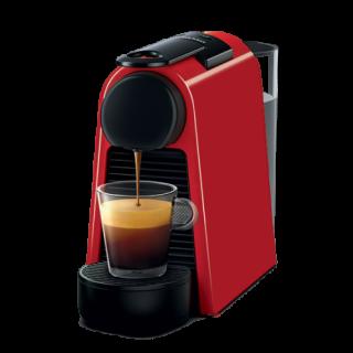 Nespresso  -  Espresso & Coffee Maker Essenza Mini (  red , black )