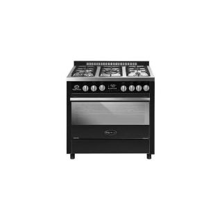 WHITE WHALE GAS COOKER 5 BURNER CAST IRON WC-9091GB PRO