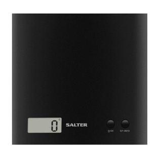 Salter 1066 BKDR15 Arc Electronic Digital Kitchen Scales 3KG- Black