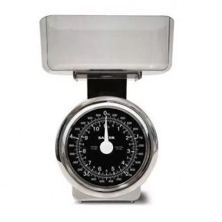 SALTER scales 5kg silver colormade of chrome S114 CRDR
