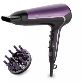 Philips DryCare Advanced Hair Dryer, 2200 Watt, Black Purple - BHD184 00