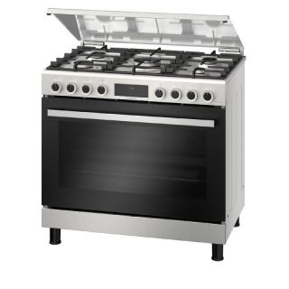 BOSCH cooker 90 * 60 cm 5 burners stainless steel with grill HGX5G7W59S