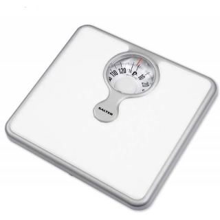 SALTER body scales weight up to 133kg white color  S-484 WHKR