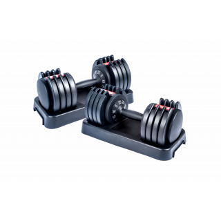 Entercise 25KGS Adjustable Dumbbells – PAIR