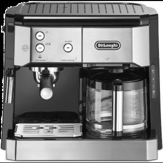 DeLonghi BCO 421.S Filter Coffee Machine, Silver / Black