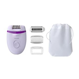 PHILIPS SATINELLE ESSENTIAL CORDED COMPACT EPILATOR FOR LEGS WITH 4 ACCESSORIES BRE275/00