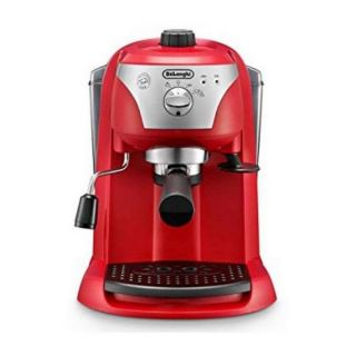 Delonghi EC221R Pump Espresso and Coffee Machine, 1.4 L - Red
