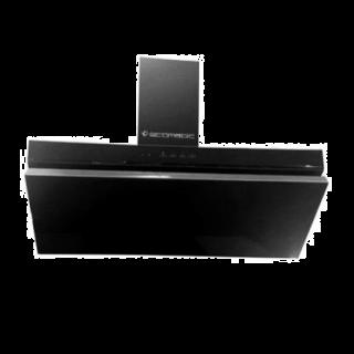 Ecomatic Decorative Hood 90 cm Touch Black H95FTBK