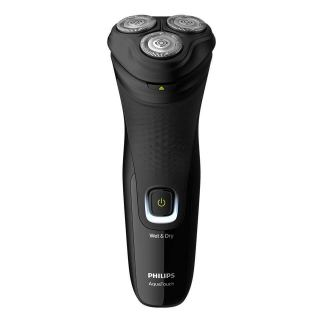 Philips AquaTouch Wet & Dry Beard Shaver, Black Silver - S1223 41