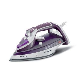 Ariete Steam Iron, 2200 Watt, Purple/White - 6243