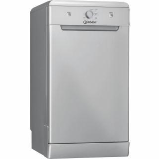 Indesit - Dishwasher 45cm silver DSFE 1B10 S 5 programs