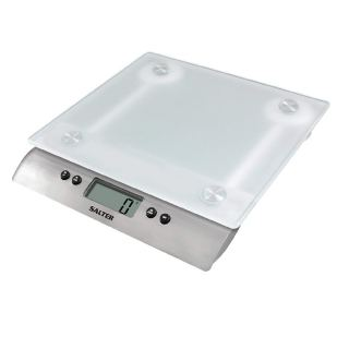 Salter Frosted Glass Digital Kitchen Scales 1242 WHDR