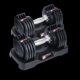 Entercise 25LBS Adjustable Dumbbells – PAIR