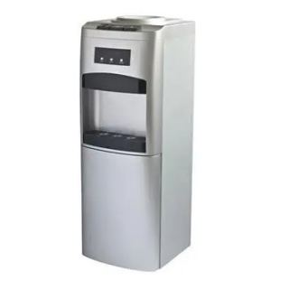 White Point Hot & Cold Water Dispenser With Built-In Refrigerator, Silver - WPWD 1316 FS