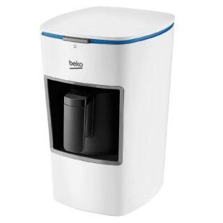 Beko Turkish Coffee Machine Single Pot, white - BKK2300 W