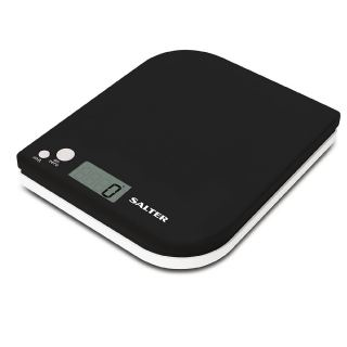 Electronic Kitchen Scales Leaf Black/White 1177BKWHDR
