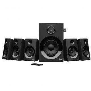 Logitech® Z607 5.1 Surround Sound with Bluetooth - BLACK - BT - PLUGC - EU