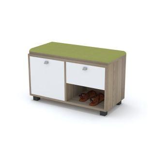 Artistico Shoe Storage - 80 Cm + Seating Unit  AR296HL1FY7EQNAFAMZ