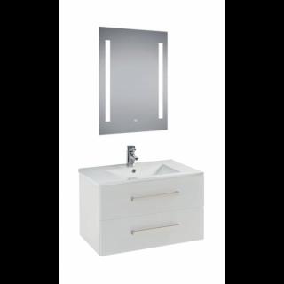 Wall Mounted Bathroom Sink Cabinet 60cm+Duravit Sink + miror 70 cm *50 cm