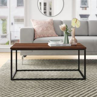 center table made of steel with electrostatic paint MU-006