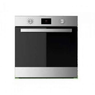 Ariston Built-In Digital Gas Oven with Electric grill & Fan, 60 cm, Stainless Steel - GF3 61 IX A