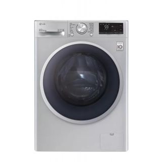 LG WASHING MACHINE 9 KG 1400 RPM WITH STEAM DIRECT DRIVE 6 MOTIONS SILVER F4R5VYGSL
