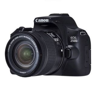 CANON EOS 250D 18-55 Digital Camera - Black