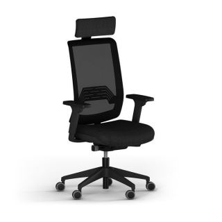 Artistico Wi MAX Egyptian European Manager Office Chair - Black