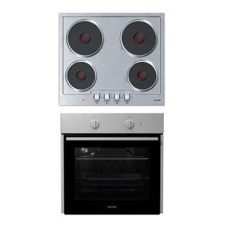 Gorenje - Electric Hob 60cm  E6N1AX+electric oven 60cm BO615E01XK
