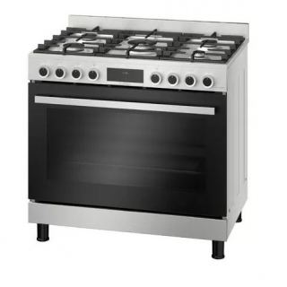 BOSCH cooker 90 * 60 cm 5 burners 147 L stainless steel HIZ5G7W59S