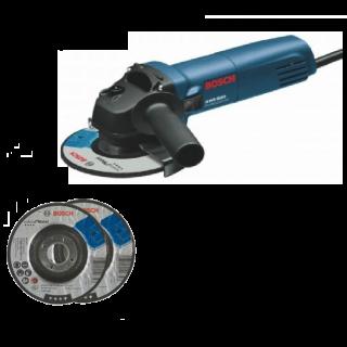 Bosch Angle Grinder Professional GWS 6700 +  Two Cutting Disc 4.5 Inch
