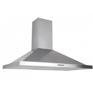 Ecomatic - 90cm stainless steel hood 1000m3/h