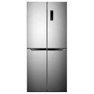 Haier Refrigerator 4 Doors 490 Liter Inverter Silver Inox HRF-490 TDSM