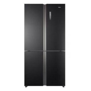 Haier Refrigerator 4 Doors 512 Liter Inverter Glass Black HRF-530 TDBG