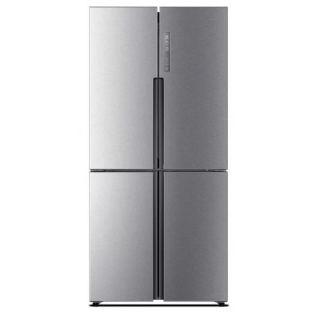 Haier Refrigerator 4 Doors 512 Liter Inverter Silver Inox HRF-530 TDPD