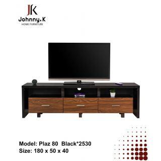 Tv unit Plaz 80 black