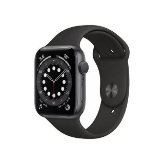 APPLE SERIES 6 GPS 40MM SPACE GRAY ALUMINIUM CASE WITH BLACK SPORT BAND REGULAR MG133AE/A