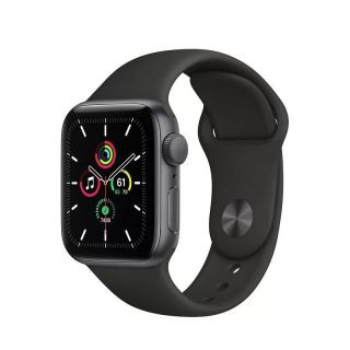 APPLE WATCH SE GPS 44MM SPACE GRAY ALUMINIUM CASE WITH BLACK SPORT BAND MYDT2AE/A