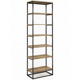 Vertical storage unit made of steel with electrostatic paint, 6 shelves ST-001